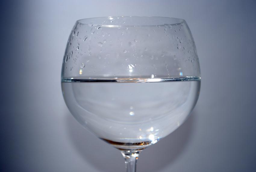 Halbvolles Glas-klein