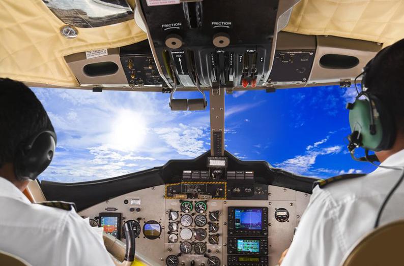 Cockpit-klein