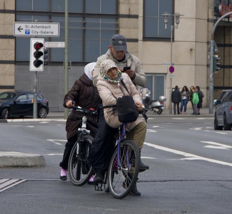 Radfahrer-klein