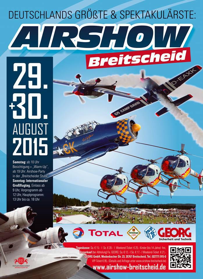 Airshow-Plakat