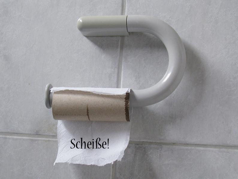 Klopapier Toilettenpapier Notdurft Klo Toilette Papier Klopapier Trilogie