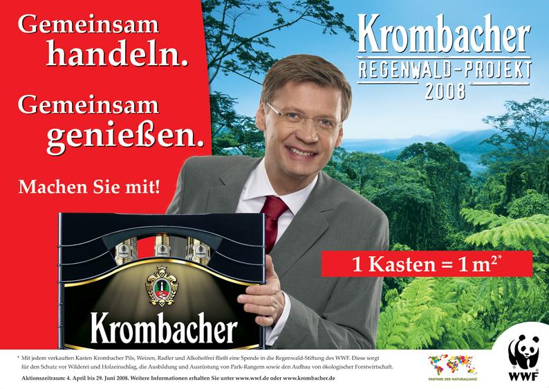 Das Krombacher Regenwald-Projekt 2008 am Start