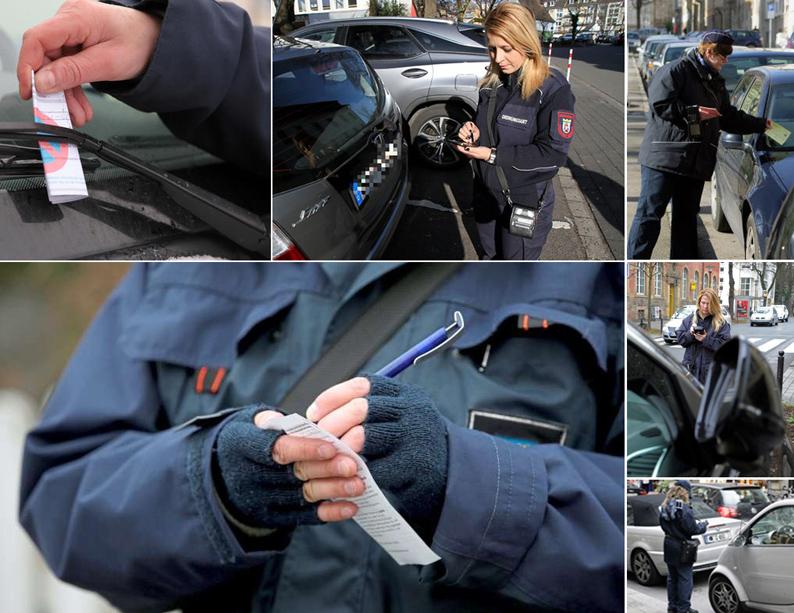 Politessen-Screenshots