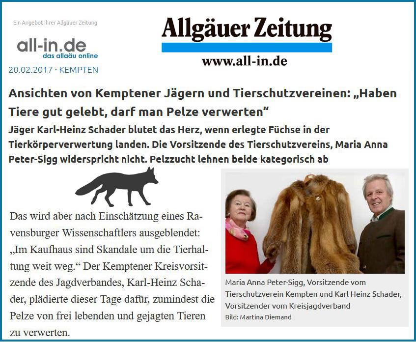 Allgäuer Zeitung 1
