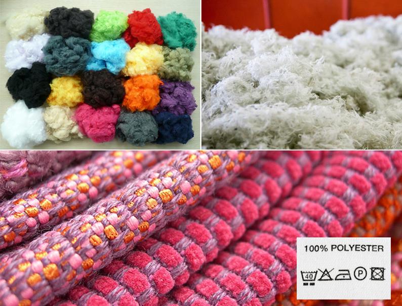 Polyester-Kombi