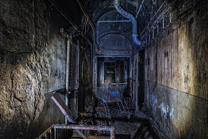 13 - Untergeschoss von Block 5