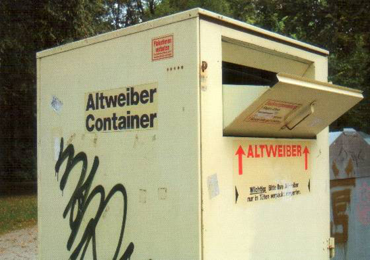 Altweiber-Container