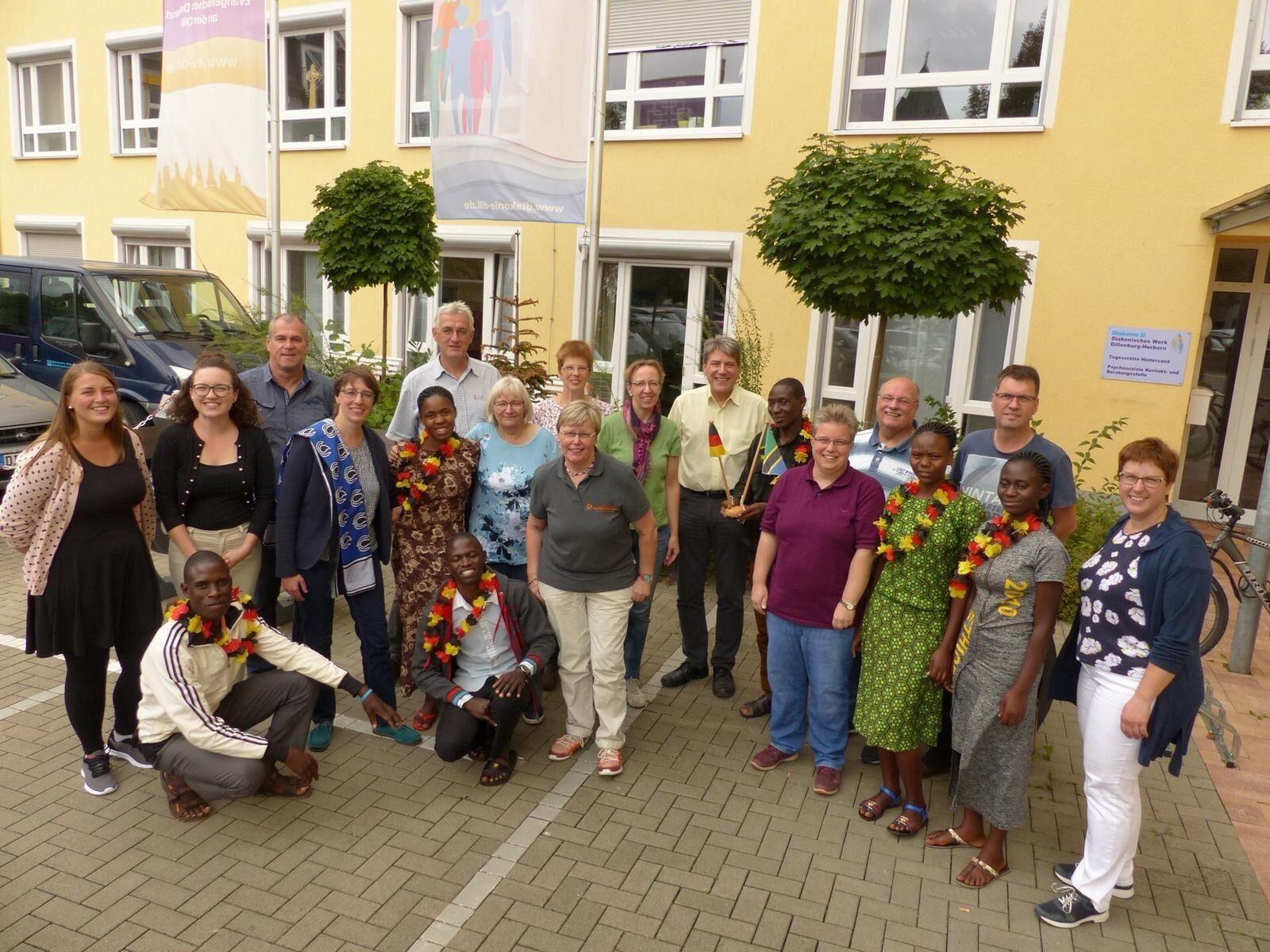 Afrika-Besuch